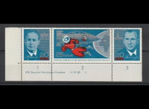 DDR Druckvermerke: Kosmonautenbesuch (1965)