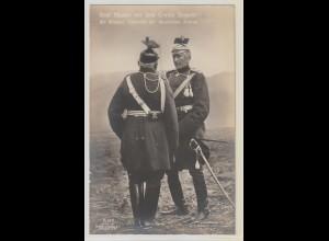 Graf Zeppelin und Graf Häseler - die ältesten Generäle...