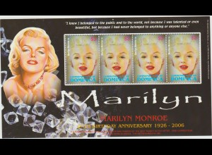 Dominica: Marilyn Monroe im Kleinbogen
