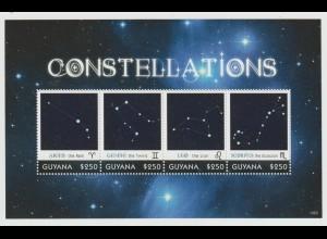 Guyana: Sternbilder Kleinbogen und Block