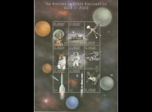 St. Vincent Geschichte der Weltraumfahrt Kleinbogen