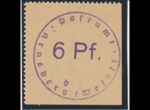 Arnsberg 1; geprüft Zierer BPP, ** (MNH)