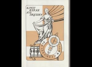 DDR-Gedenkblatt: Kunstwerke aus Dresden
