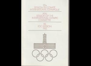 DDR-Gedenkblatt: IOC-Session