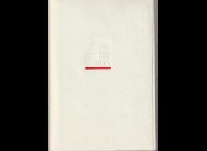 DDR-Gedenkblatt: 750 Jahre Berlin Mappe mit 8 Faltblättern