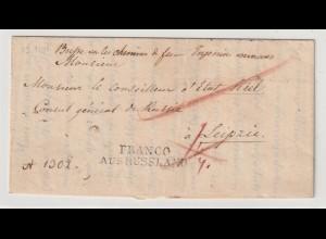 Russland: Vorphila-Brief an den russ. Generalkonsul in Leipzig, 1841