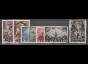"""Sowjetunion: 414-20 (""""15. Jahre Oktoberrevolution""""), postfrisch ** (MNH)"""