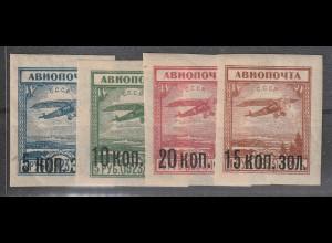 Sowjetunion: 267-70 (Flugpostmarken) postfrisch **, MNH