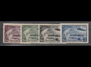 """Sowjetunion: 402-05 (""""Zeppelin""""), postfrisch ** (MNH)"""