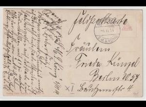 Schiffspost SMS König, 6.11.14 Feldpostkarte