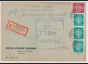 Dienstbrief Einschreiben Rüdersdorf - Berlin
