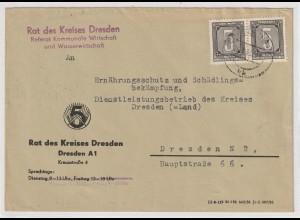 ZKD-Post: Behördenbrief mit 2x Nr. 1