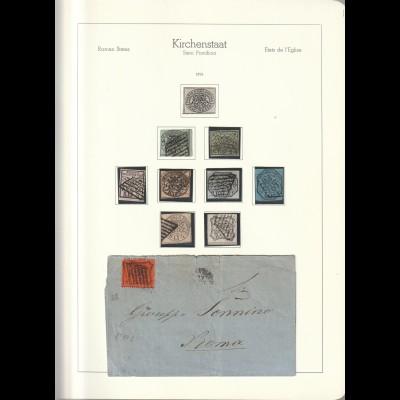 Kirchenstaat / Vatikan (bis 1992) Sammlung im Leuchtturm-SF-Album