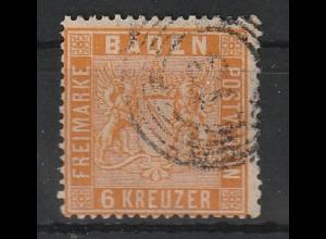 Baden Nr. 11b; gepr. Flemming