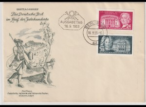 DDR-FDC: Dt. Baumeister (1953);