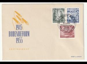 DDR-FDC: Bodenreform (1955);