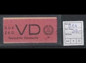 DDR-ZKD Vertauliche Dienstsache D1, **, Befund Mayer