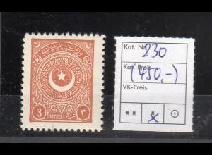 Türkei, Mi.-Nr. 830 ungebraucht