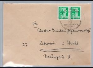 DDR. Fernbrief Me.F. mit Mi.-Nr. 1868/1868