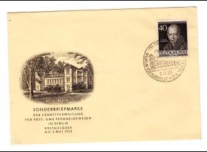 Berlin-FDC: Humboldt (Nr. 100)