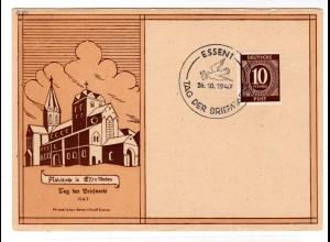 Ereigniskarte: Tag der Briefmarke Essen 1947