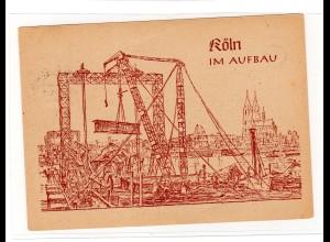 """Ereigniskarte: """"Köln im Aufbau"""" 1947"""