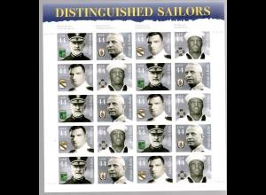USA ** im Bogen Distinguished Sailors