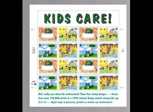 USA ** im Bogen Postfrisch 2553-16 Kids Care
