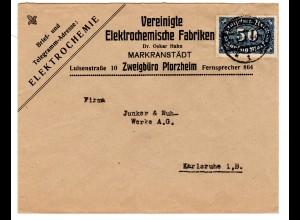 Reklamebrief, Vereinigte Elektrochemische Fabriken.