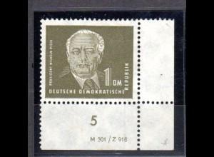 DDR, Pieck (I) 1 DM mit DV postfrisch.