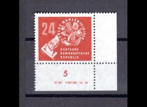 DDR, Volkswahlen 1950 mit DV, postfrisch.