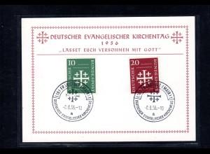 Ereigniskarte Dt. Evang. Kirchentag 1956
