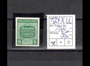 SBZ-Westsachsen, Mi.-Nr 124 xu postfrisch.