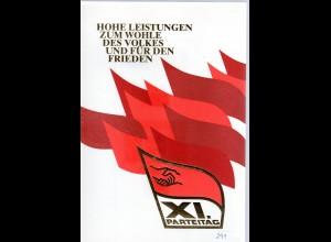 DDR-Gedenkblatt, Hohe Leistungen zum Wohle des Volkes und für den Frieden