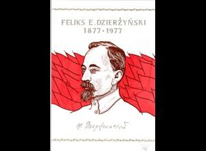 DDR-Gedenkblatt, Feliks E. Dzierzynski