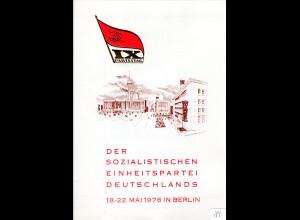 DDR-Gedenkblatt, IX. Parteitag der SED