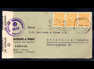 All.-Ausgabe, Ausland-Brief mit MeF. Mi.-Nr. 927