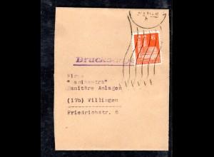 AM.&Britische-Zone, Streifband mit EF. Mi.-Nr. 76 wg
