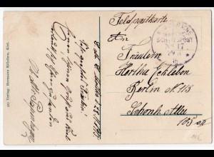 Marine-Schiffspost Nr. 17 Feldpostkarte 29.11.1915