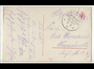 Marine-Schiffspost Nr. 30 Feldpostkarte 09.03.1915