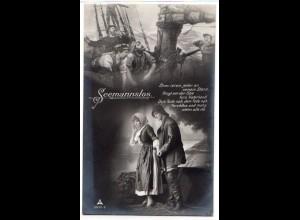 Marine-Schiffspost Nr. 48, als Feldpostkarte 13.02.1916