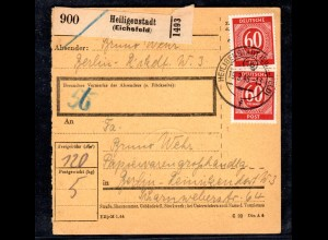 All. Besetzung, Gemeinschafsausgaben, Paket-Karte mit MeF. Mi.-Nr. 933