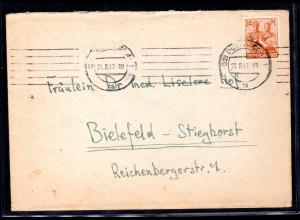 All. Besetzung, Gemeinschafsausgaben, Fern-Brief mit EF. Mi.-Nr. 951 d