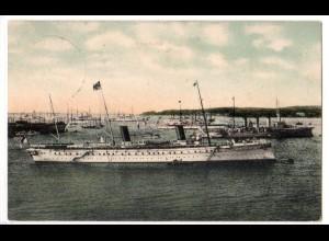 Marine-Schiffspost Nr. 13, als Feldpostkarte
