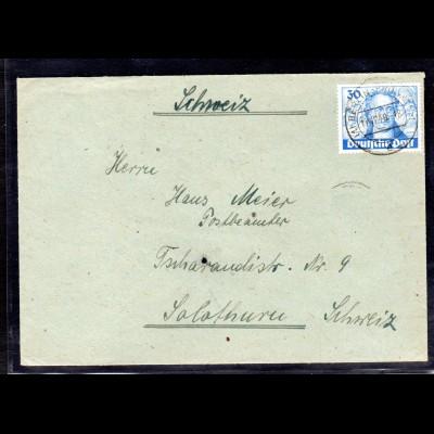 Berlin, Ausland-Brief mit EF. Mi.-Nr. 200