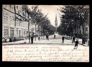 Fotokarte Berlin Groß-Lichterfelde, Verlängerte Wilhelmstrasse