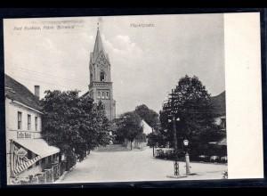 Fotokarte Brandenburg, Bad Buckow, Markplatz