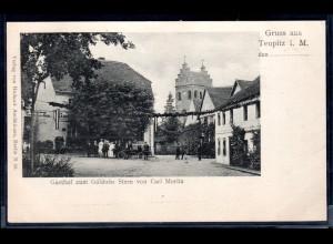 Fotokarte Brandenburg, Gasthof zum Goldnen Stern von Carl Moritz