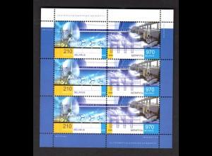 Weißrussland Kl. Mi.-Nr 647-48 Erneurbare Energie, postfrisch