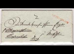 Vorphila Brief von Würzburg nach Margenthin